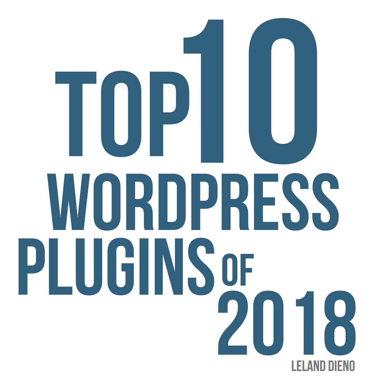 Top 10 free WordPress plugins of 2018
