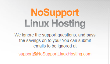 No Support Linux Hosting Review