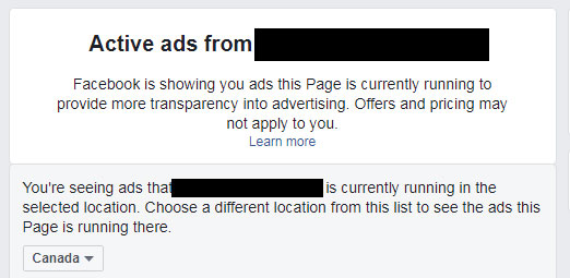 View Competitor's Ads on Facebook