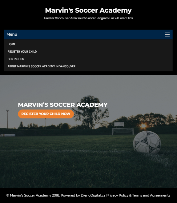 Case Study: A Vancouver Youth Soccer Academy
