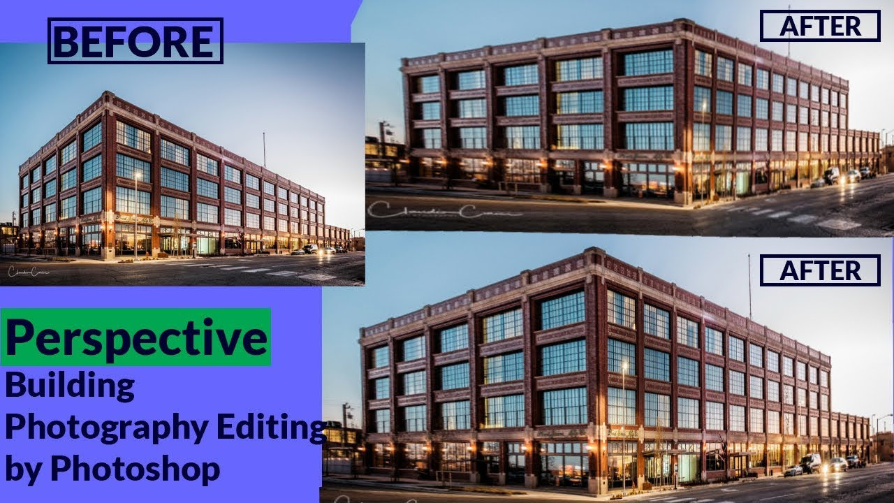 Perspective Real Estate Photography Editing | Photoshop Tutorial | Adobe Photoshop CC