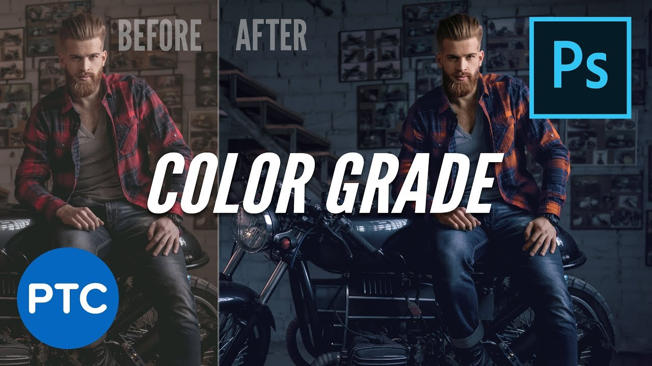 Create a Beautiful COLOR GRADE in Photoshop Using Selective Color