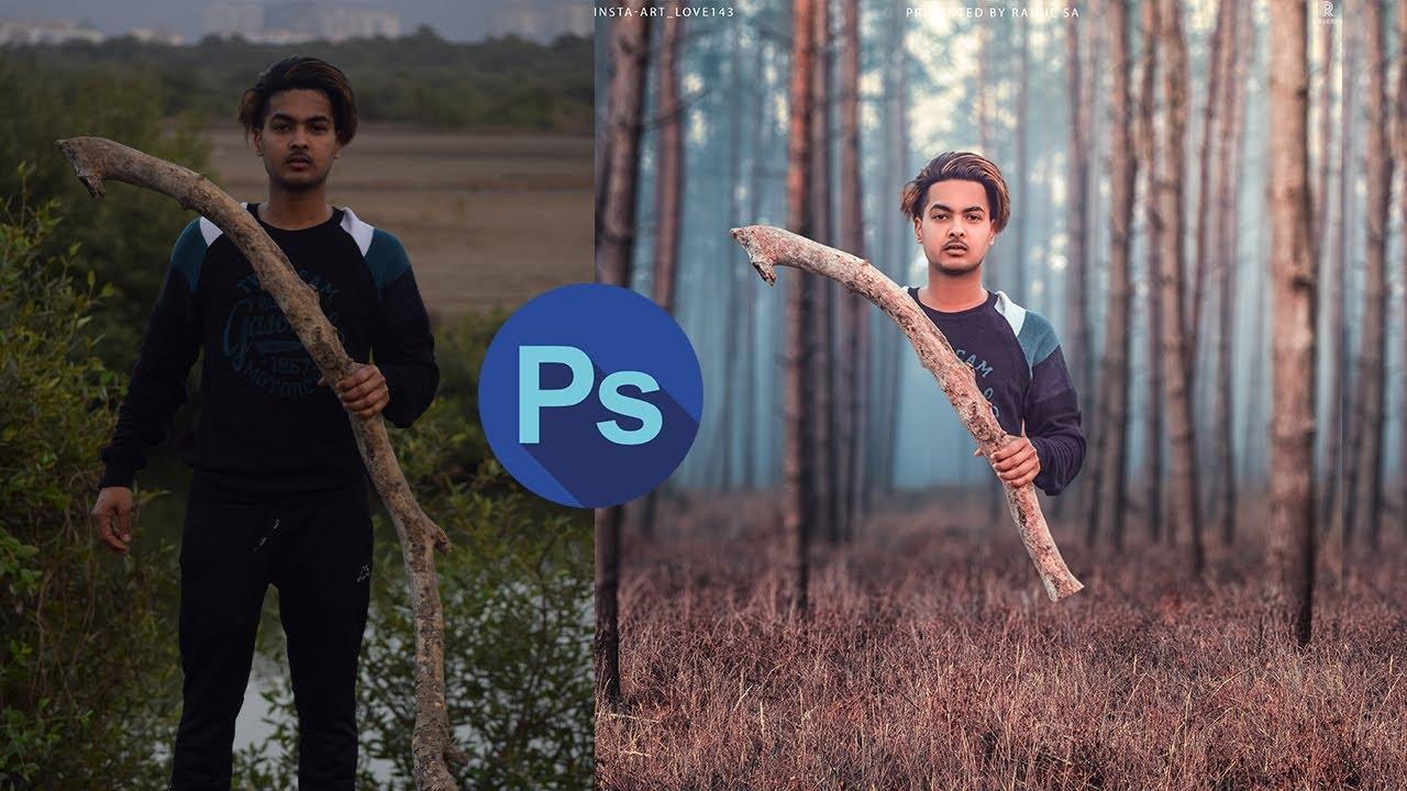 Adobe Photoshop Tutorial:  Creative Photo Manipulation Effects in photoshop cc 2019 #creative #photo