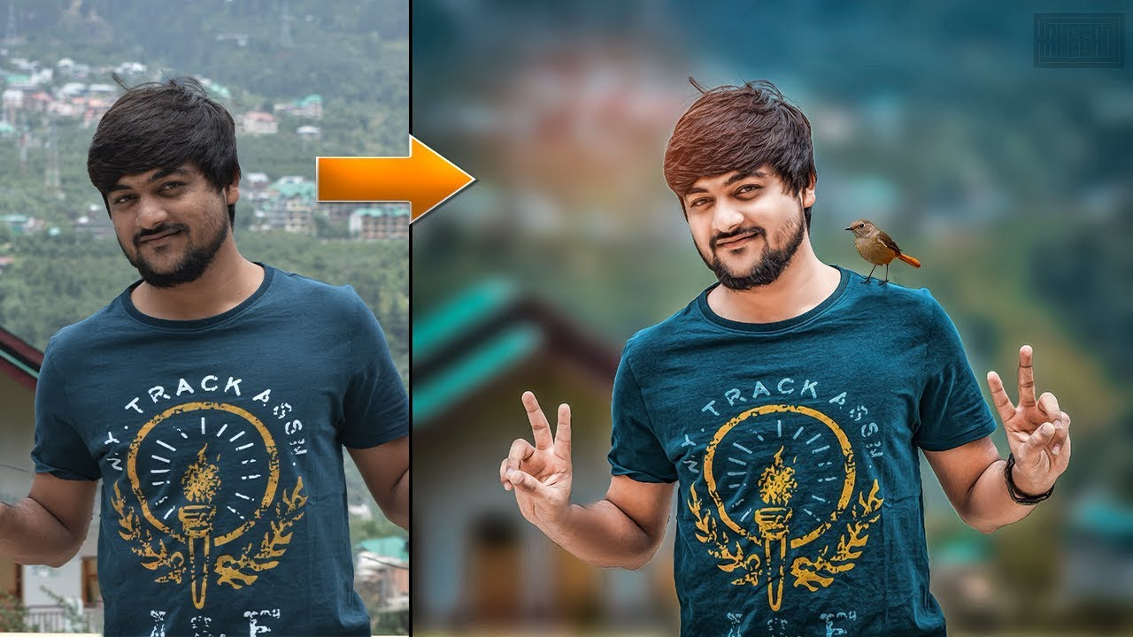 PS || Photoshop Tutorial - Real CB Editing in Photoshop cc 17,18,2019 & cs6 | CB Edit New Tutorial |