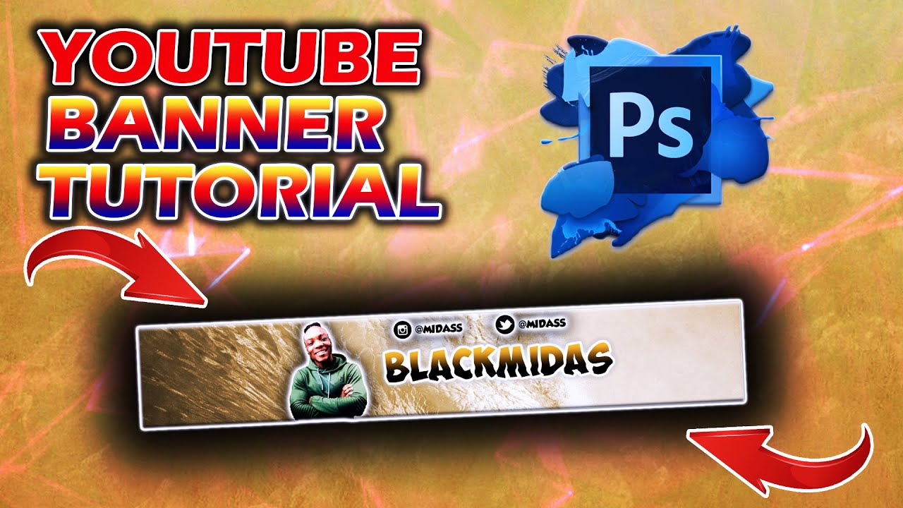HOW TO MAKE A YOUTUBE BANNER IN ADOBE PHOTOSHOP CC/CS6 (WINDOWS/MAC) IN UNDER 15 MINUTES!