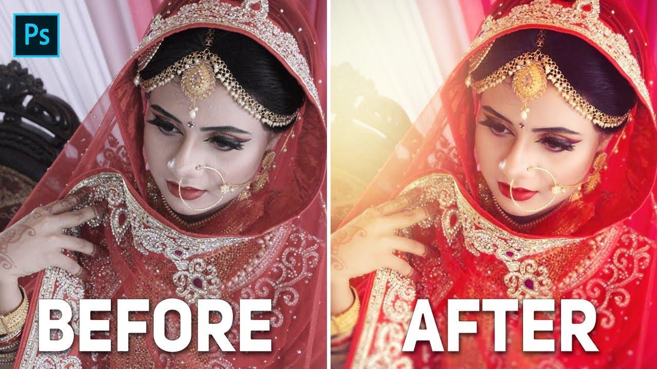 Best Way Of Editing Weddings Photography In Adobe Photoshop CC ।  Beginners Tutorials 2019