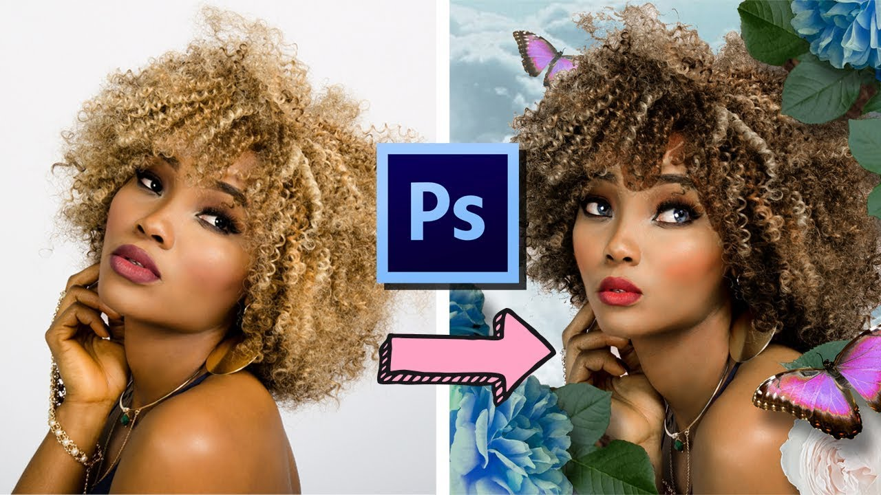 PHOTOSHOP TUTORIAL // How to make a Digital Mockup in Adobe Photoshop!