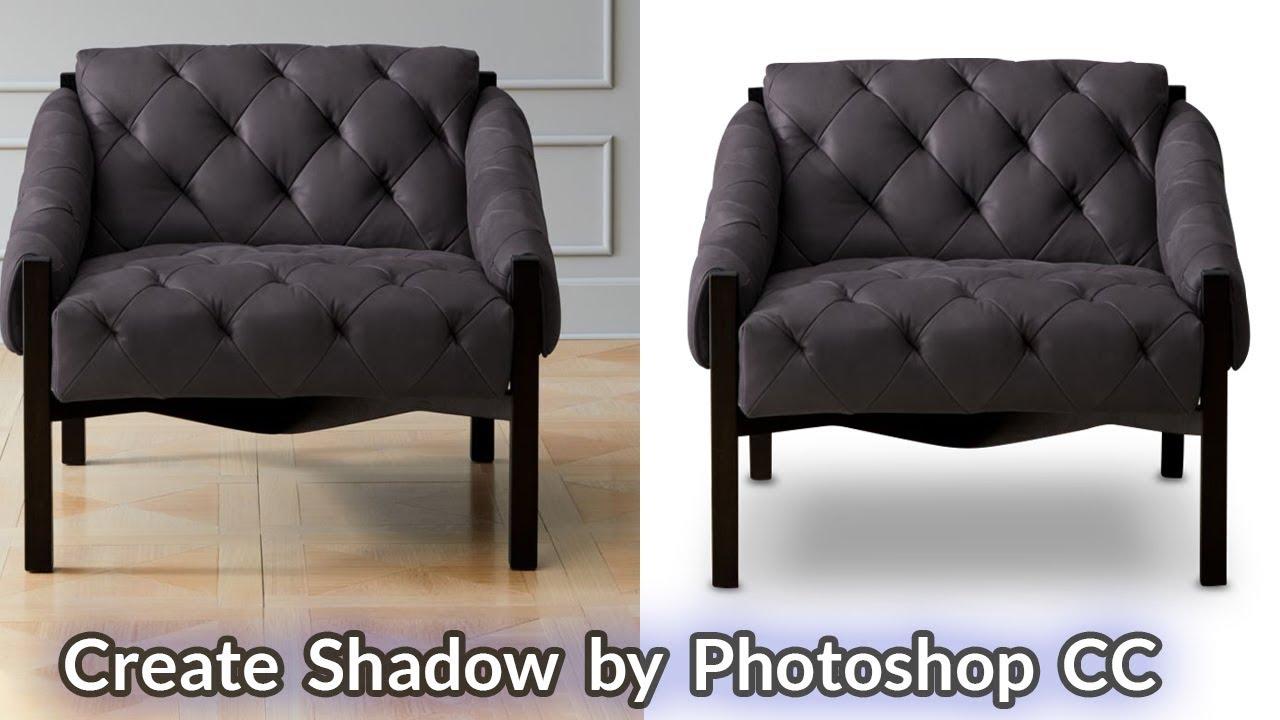 Create Shadow by Photoshop CC  | Photoshop Tutorial | Adobe Photoshop CC