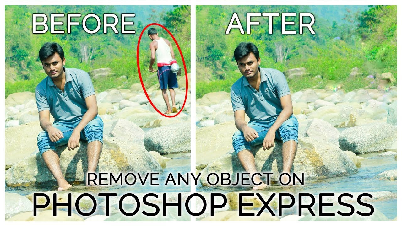 Adobe Photoshop Express-How to Remove Object from Photo in Android|Photoshop App for Android