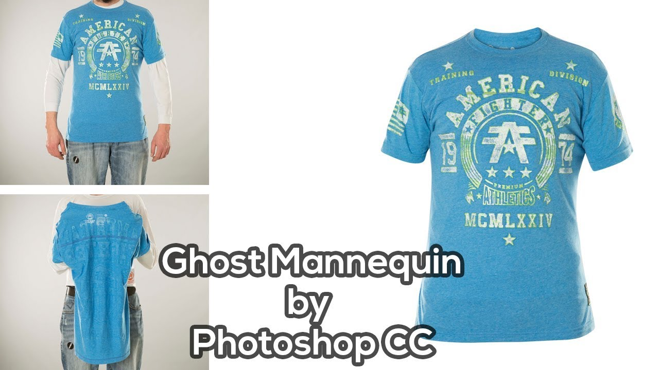 Ghost Mannequin by Photoshop CC | Photoshop Tutorial | Adobe Photoshop CC