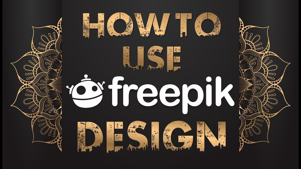 How To Use - Freepik - Design In CorelDraw | illustrator | adobe photoshop