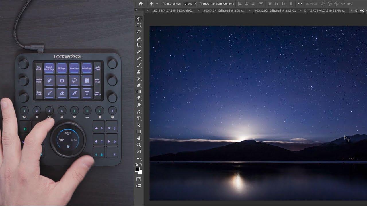 Loupedeck CT with Adam Karnacz: Introduction to Adobe Photoshop