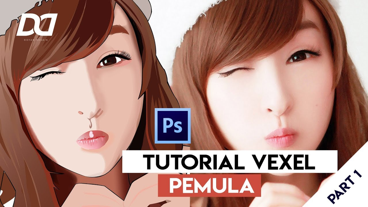TUTORIAL VEXEL PEMULA PART 1    Adobe Photoshop