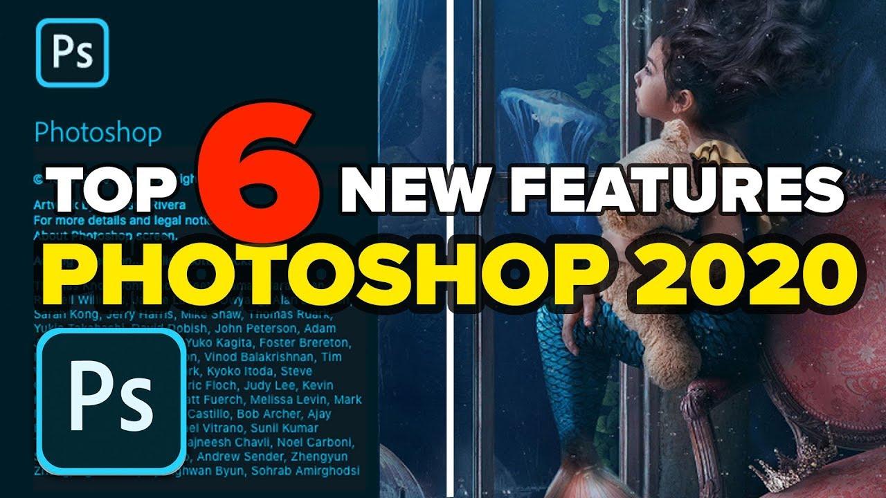 Photoshop 2020 TOP 6 NEW Features + BONUS TIPS