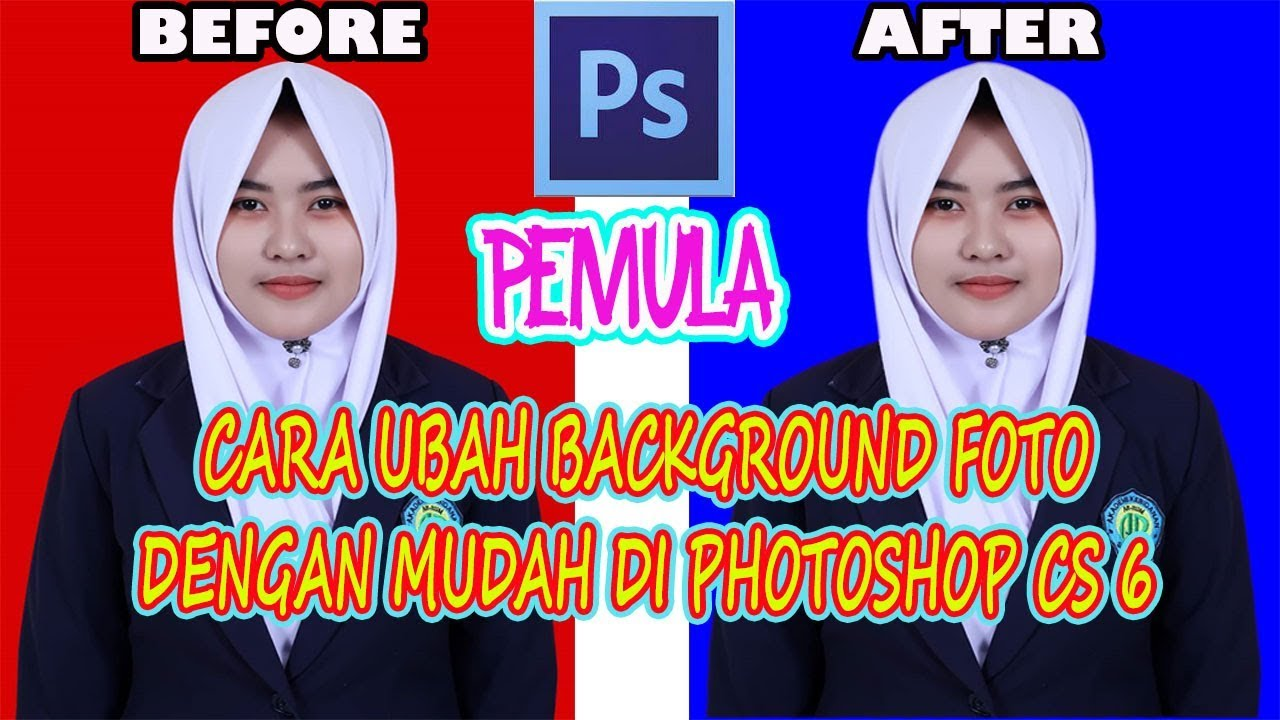 Cara Ubah Background Foto di Photoshop CS6