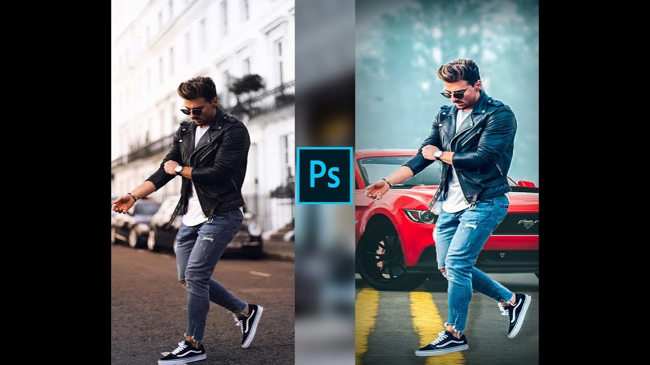 adobe photoshop cc Tutorial | How to change background