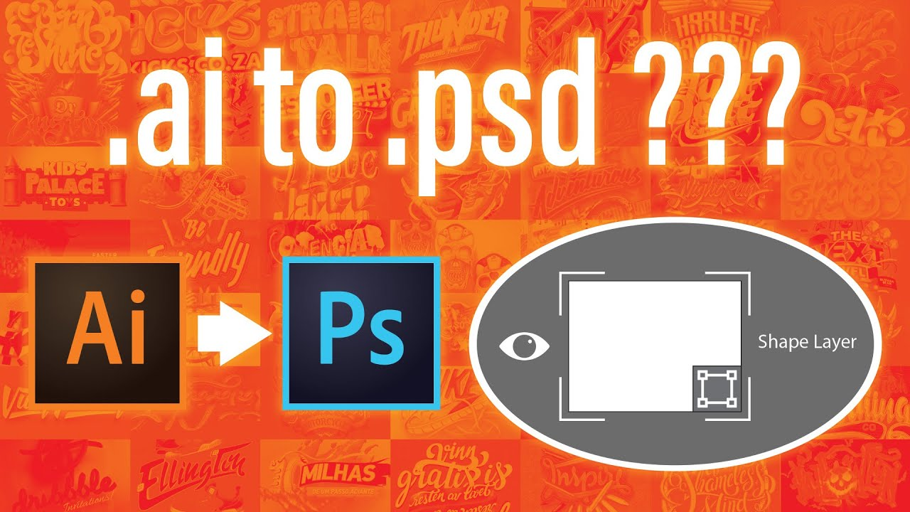 How to open Adobe Illustrator file in Photoshop with all editable layers - Tutorial