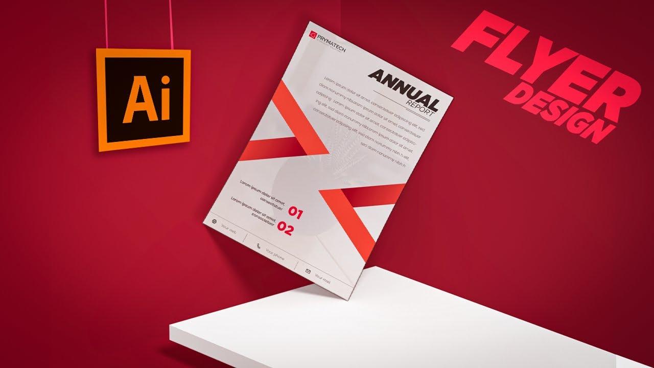 Minimal Flyer Design In Adobe Photoshop (Business Flyer)- Adobe Photoshop Tutorial