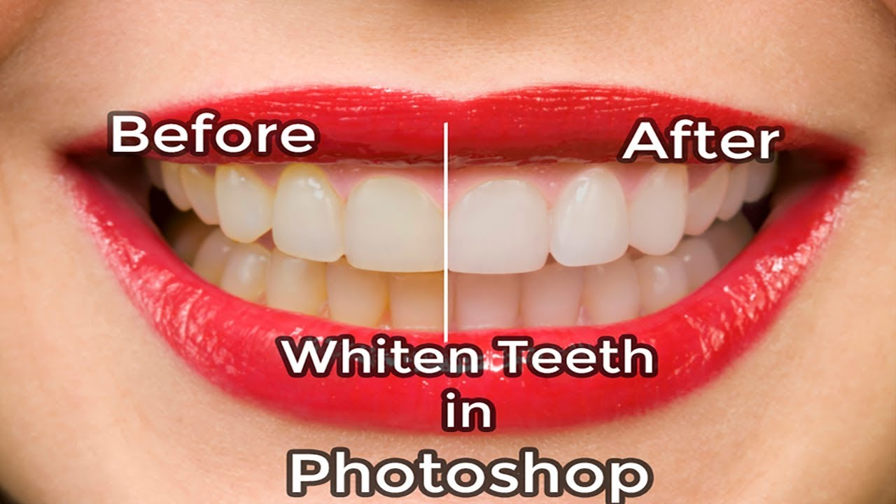 Whiten Teeth in Photoshop | Photoshop Tutorial | Adobe Photoshop CC