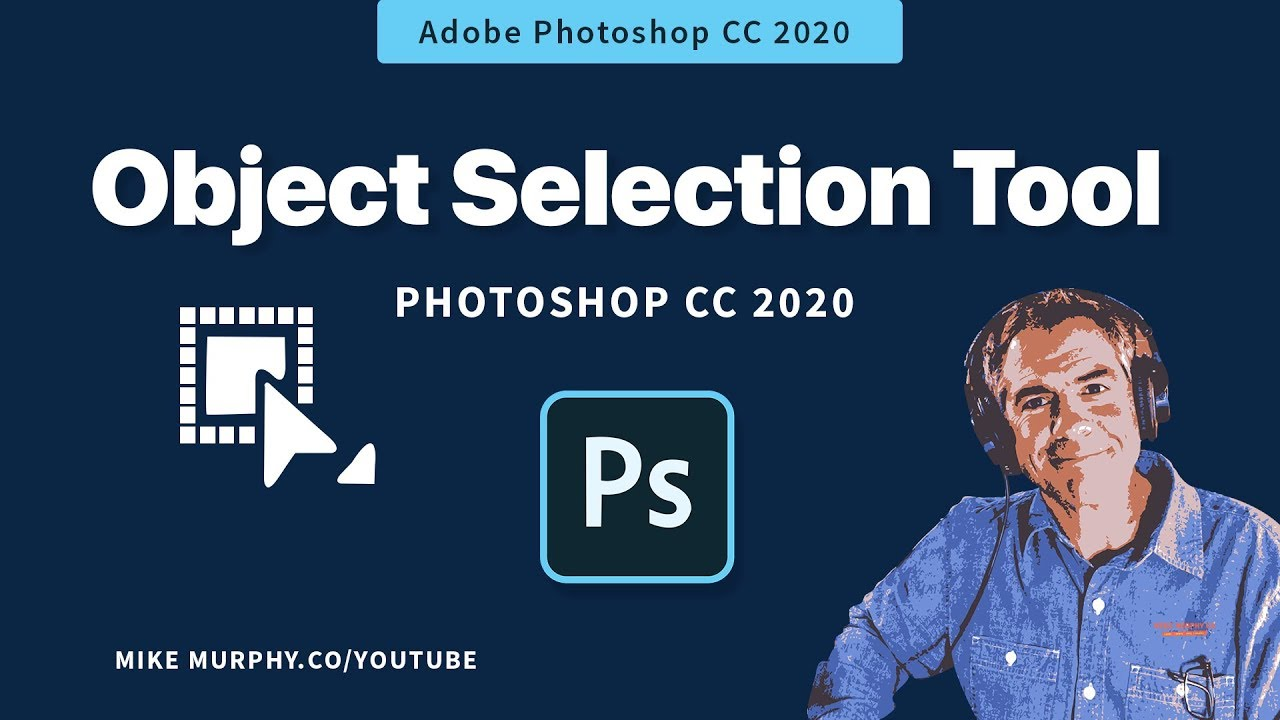 Object Selection Tool in Photoshop CC 2020