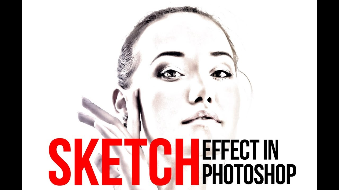 How to create Pencil Sketch Effect in Adobe Photoshop