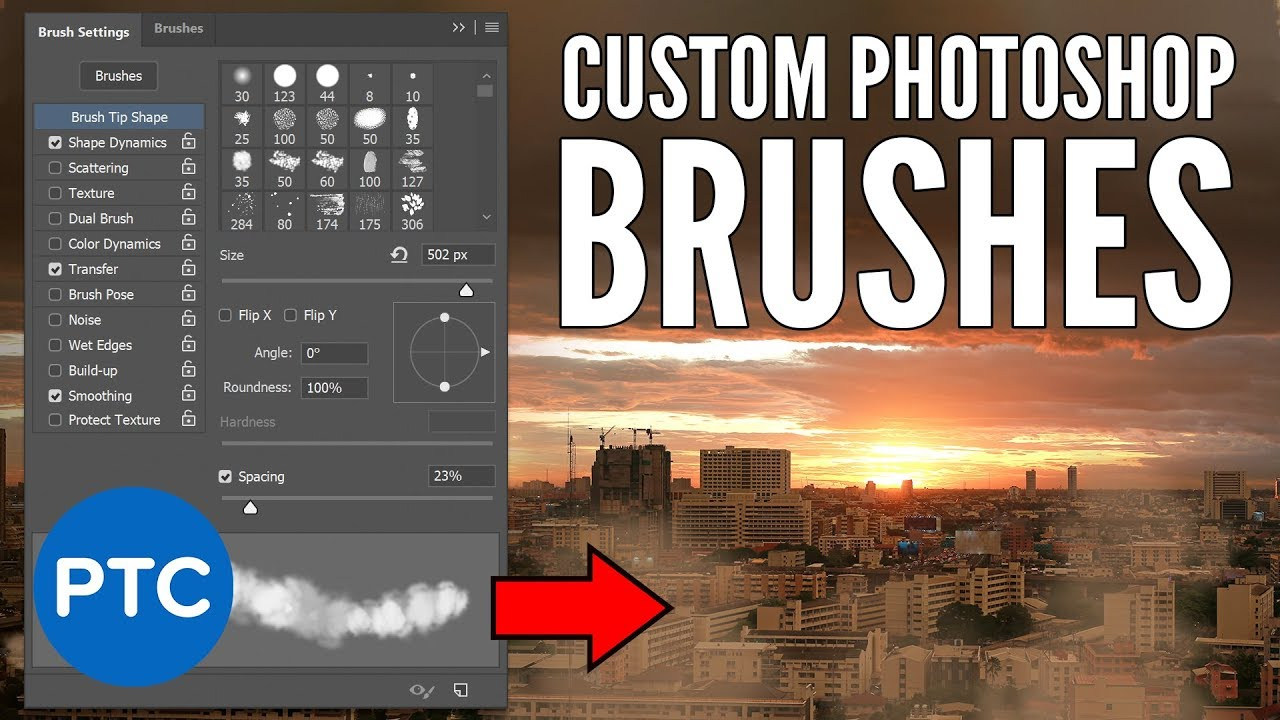 How To Turn ANY IMAGE Into a Custom Photoshop BRUSH