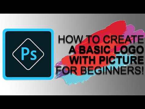 HOW TO: Basic Text Logo w/ Picture Using Adobe Photoshop