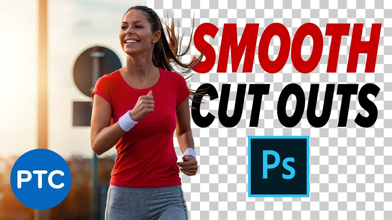 Photoshop: How To Make SMOOTH CUT OUTS! Remove Backgrounds with Vector Masks