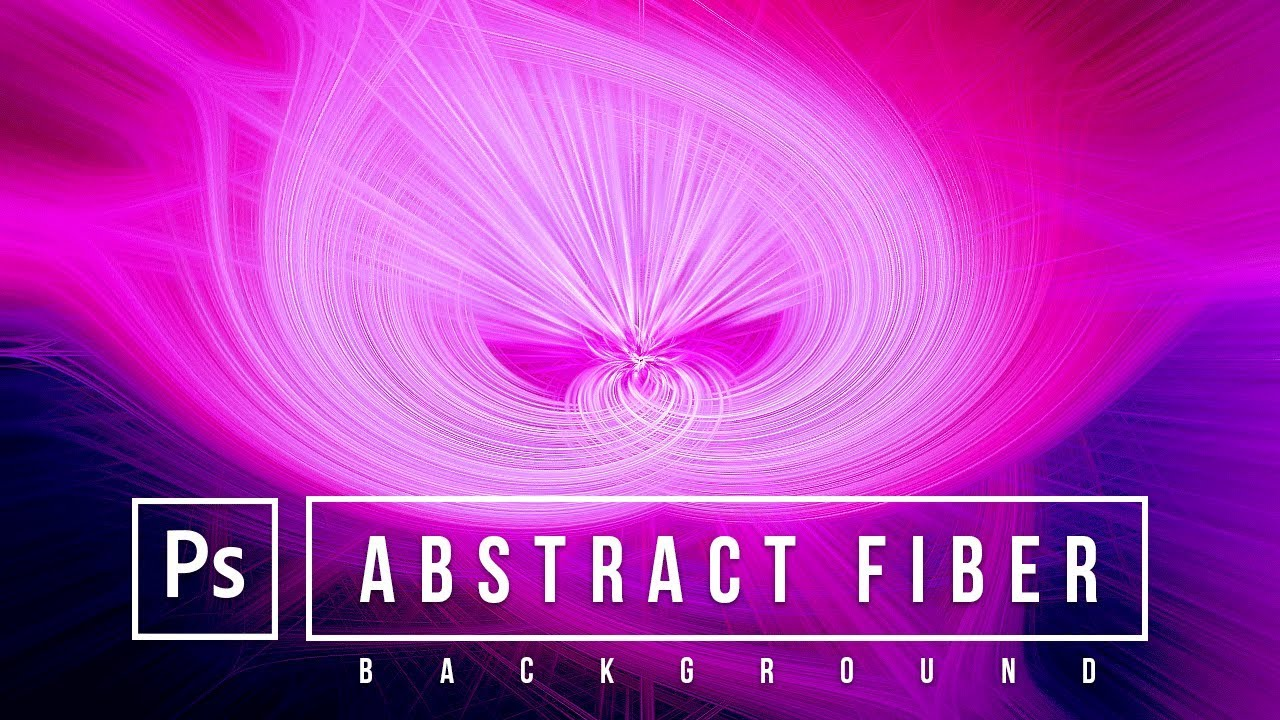 How to create Abstract Fiber Background Effect in Adobe Photoshop | Photoshop CC Tutorial