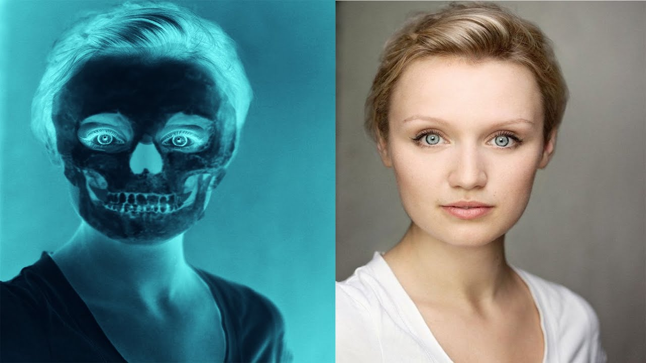 Create an X-Ray Skull Effect   Photoshop tutorial   EVERYTHING Ps