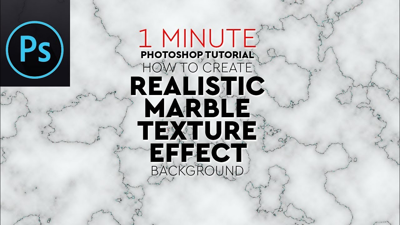Create Realistic Marble Texture Effect in Adobe Photoshop