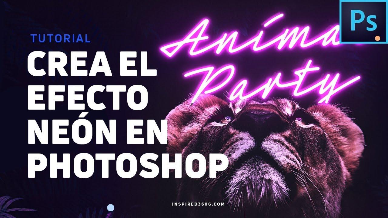 Cómo Crear el Efecto de Luz de Neón Con Photoshop - Tutorial