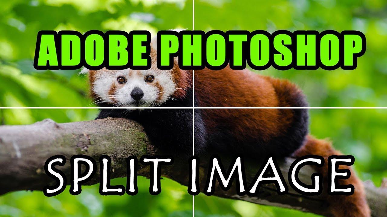 Adobe Photoshop Tutorial - Split Image