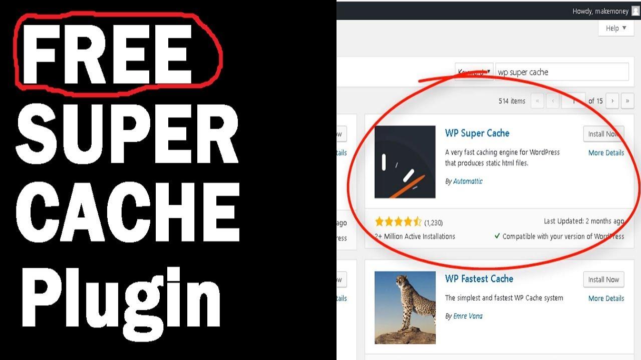 Best FREE Wordpress Cache Plugin Increase Site Speed - EASY Setup Tutorial