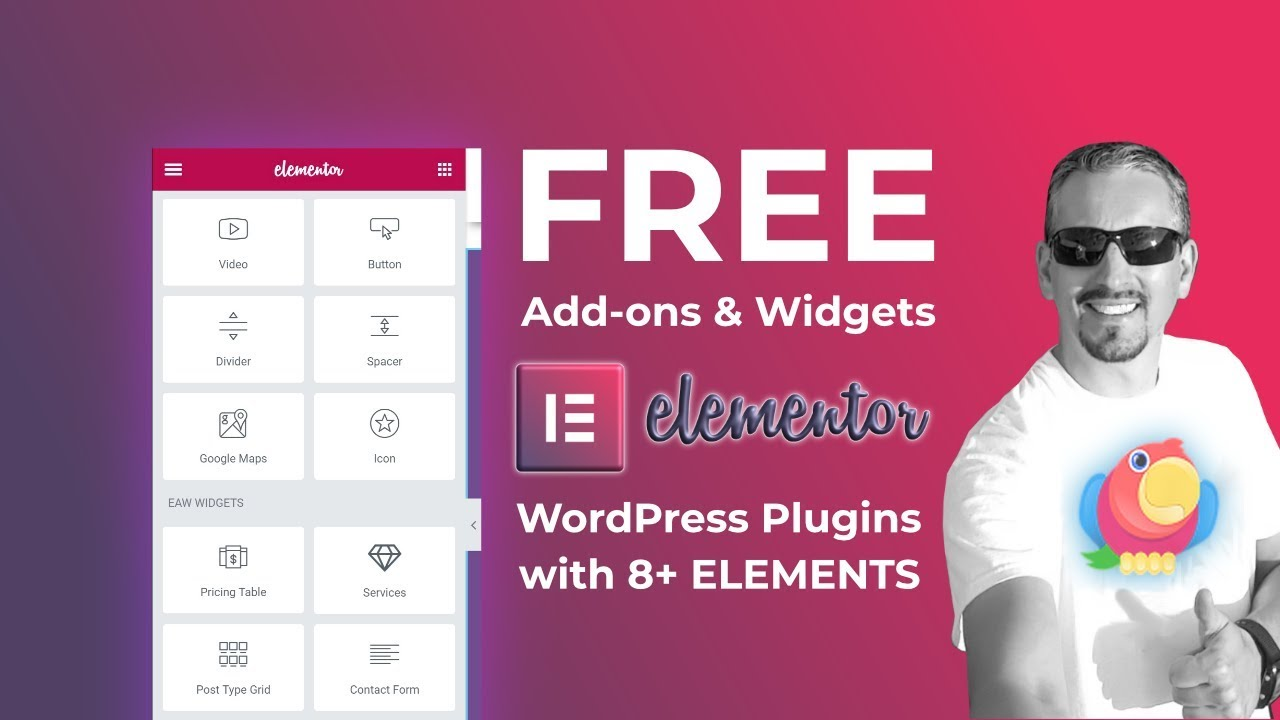 Elementor Addons & Widgets: FREE Plugin With 8+ Elements