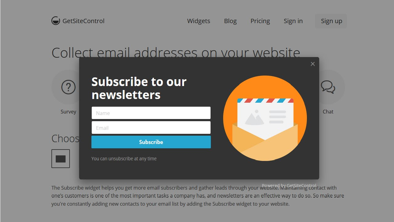 Email Subscribe|Share Buttons|Call to action|Contact form (free widget plugin for your website)