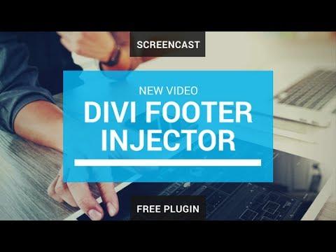 Footer plugin for Divi - FREE plugin for WordPress