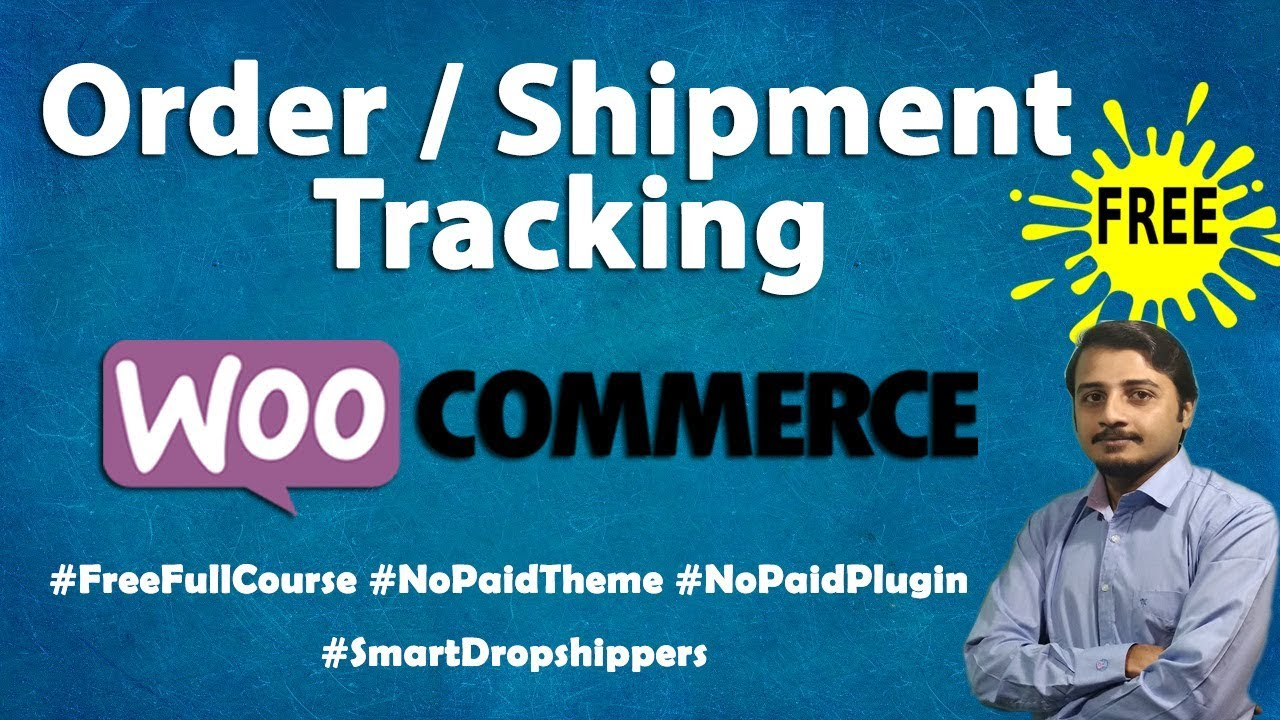 Free Order / Shipment Tracking Plugin for WooCommerce: Useful for Online Shops