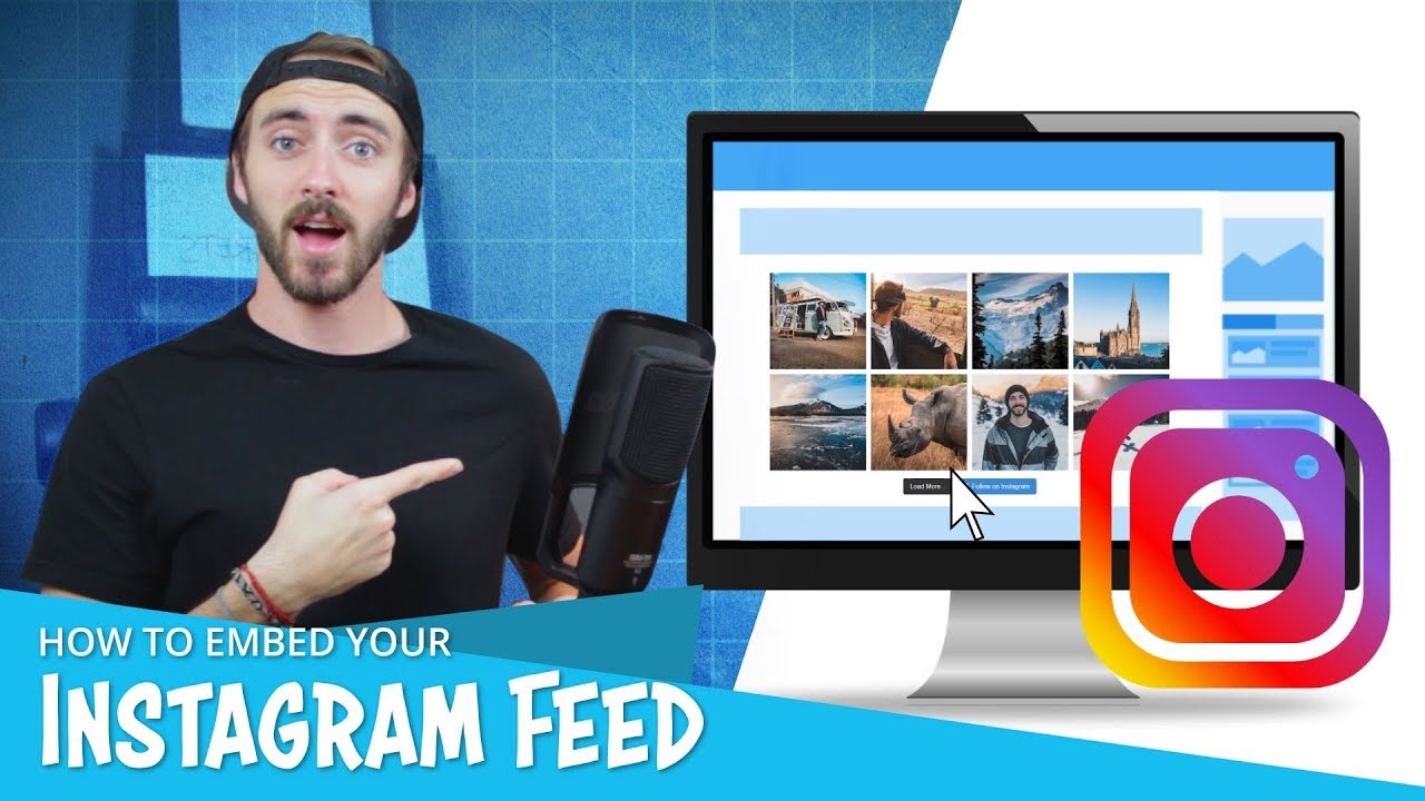 How to Embed an Instagram Feed on Your Wordpress Website | And Get More Followers!