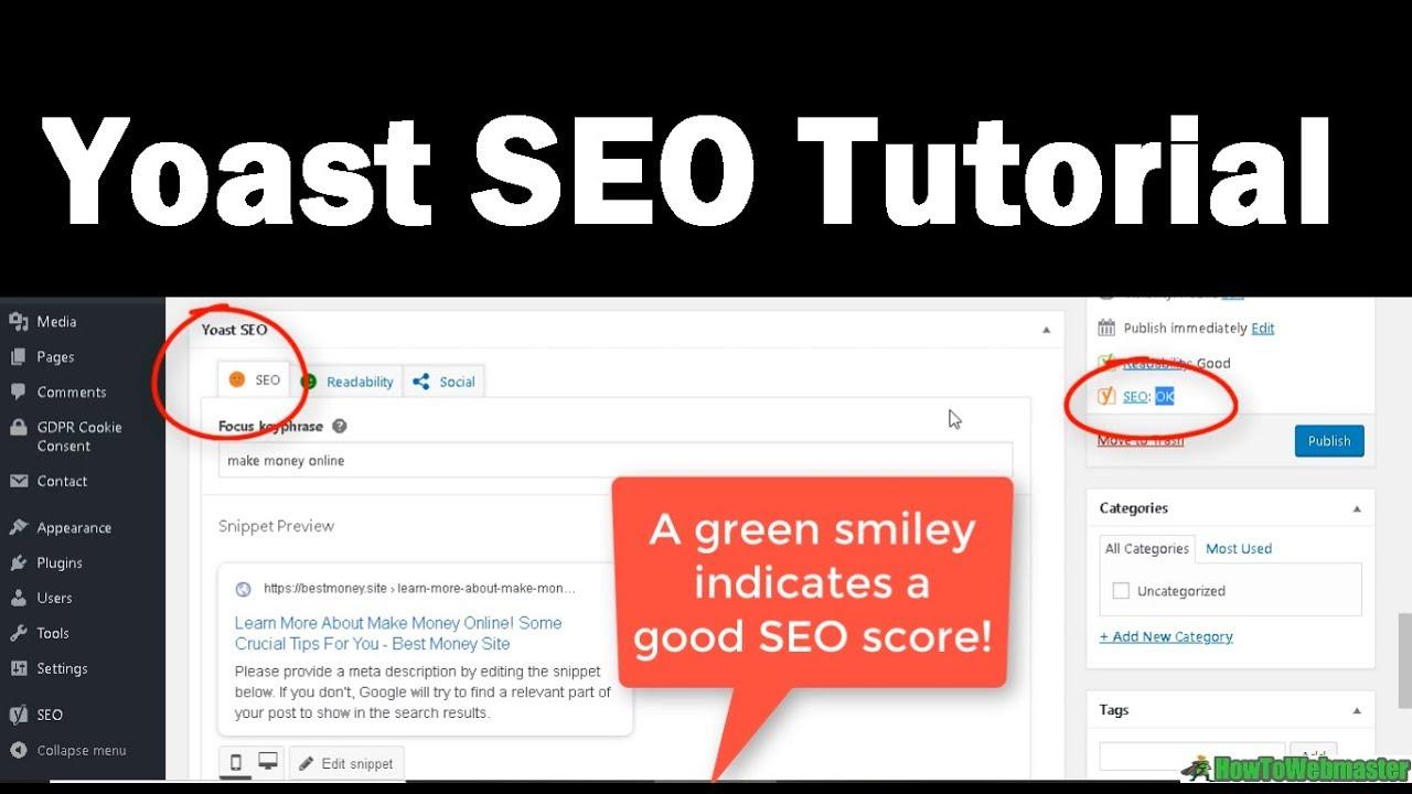 How to Setup Free SEO Wordpress Plugin - Yoast SEO Tutorial