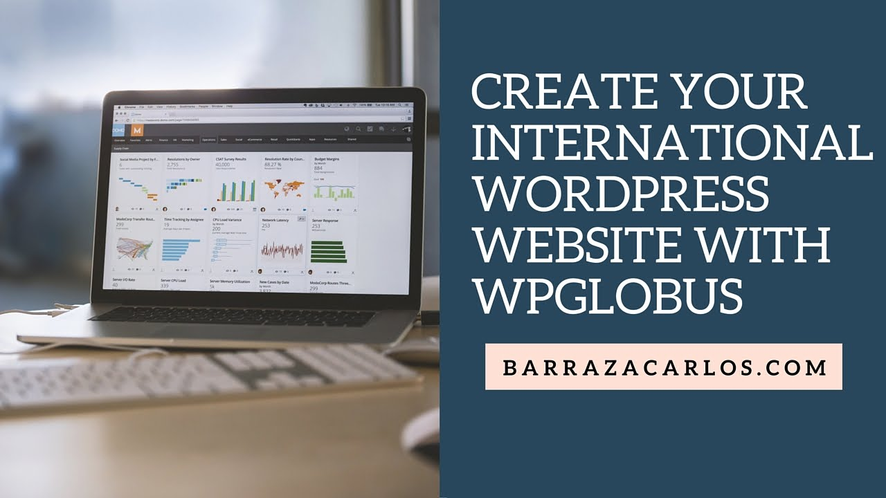 ⭐️ How to create a multilingual website in wordpress with free plugin WPGlobus