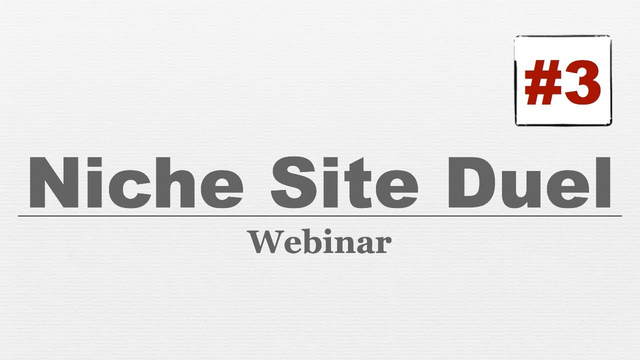 Niche Site Duel #003 - 15 FREE Wordpress Plugins For Your Niche Site