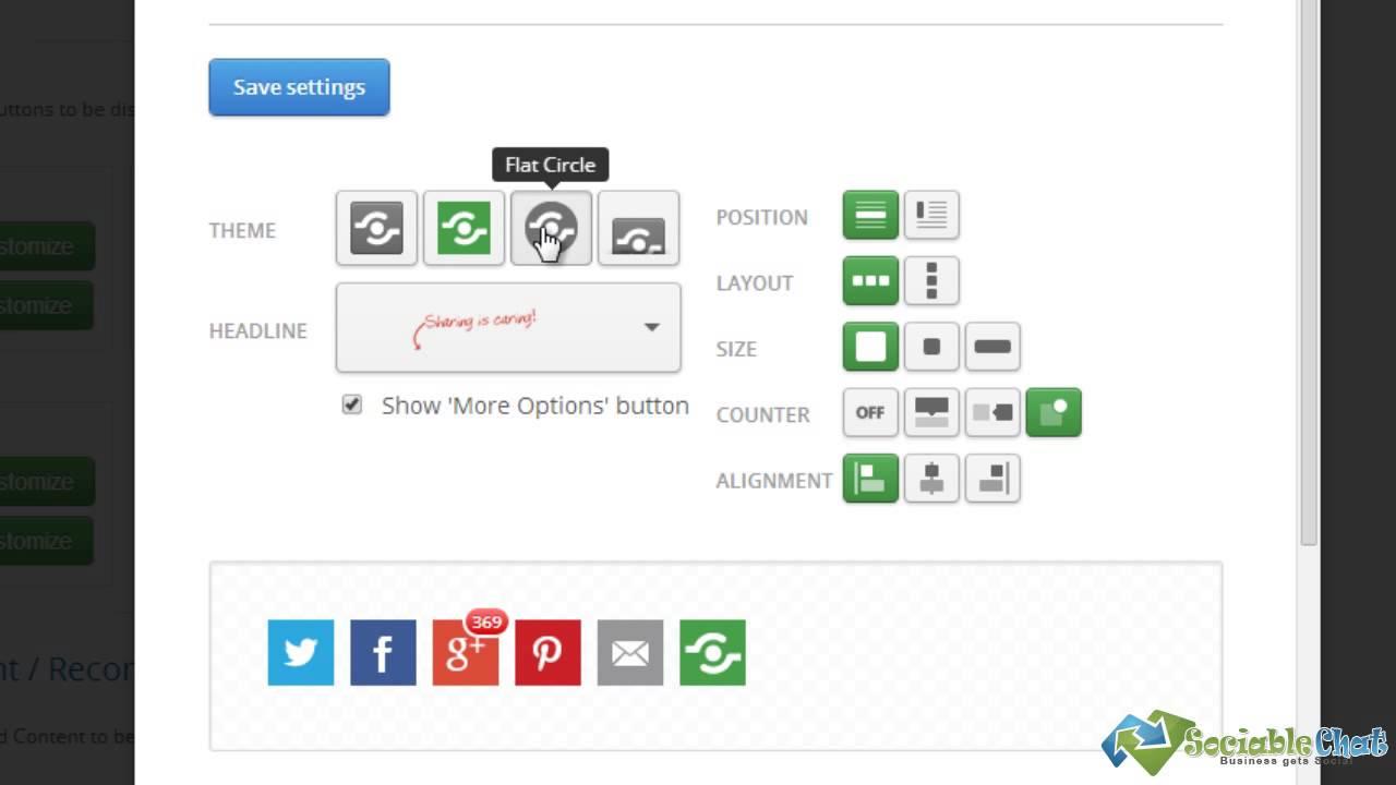 Shareaholic Free WordPress Social Sharing Plugin