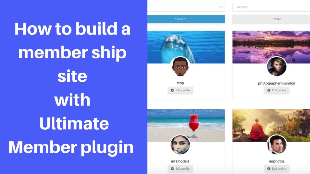 Ultimate member plugin tutorial : How to build member sites using ultimate member. #ultimatemember