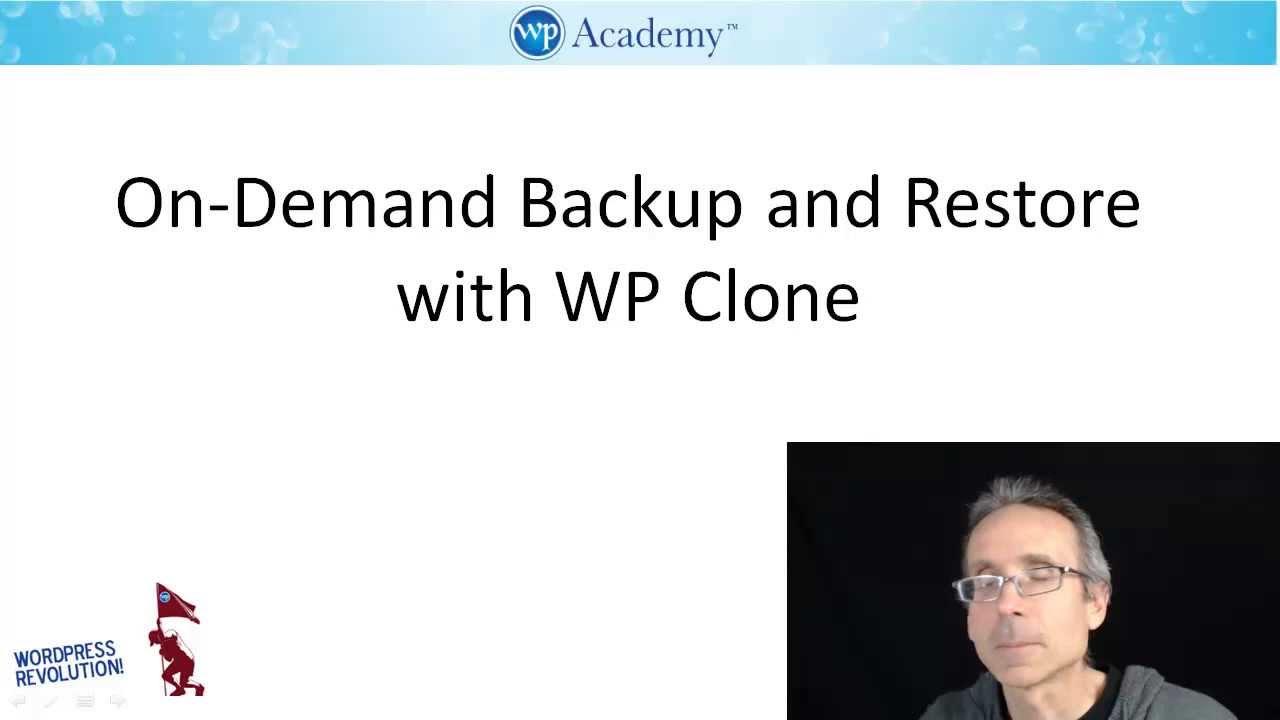 WP Clone Plugin Training Video: Copy / Migrate WordPress websites fast and free