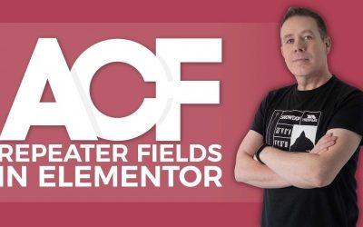 WordPress For Beginners – Advanced Custom Fields Tutorial For Beginners (ACF) – Repeater Fields Elementor
