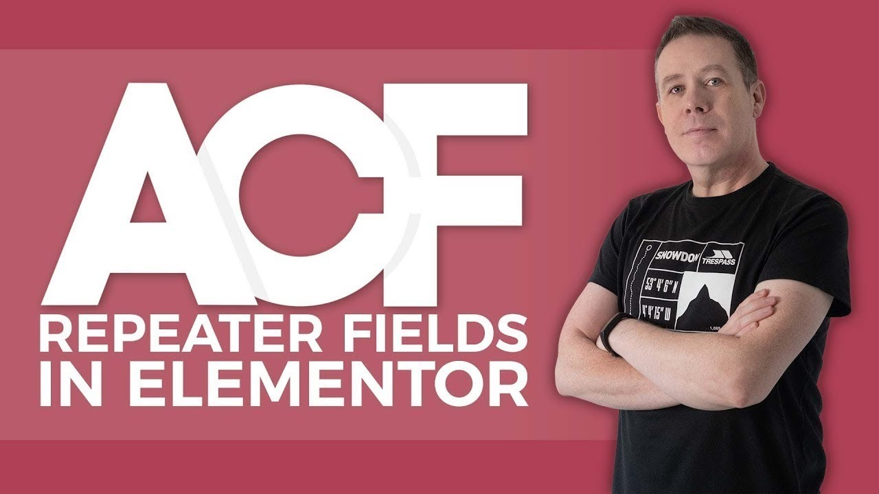 Advanced Custom Fields Tutorial For Beginners (ACF) - Repeater Fields Elementor