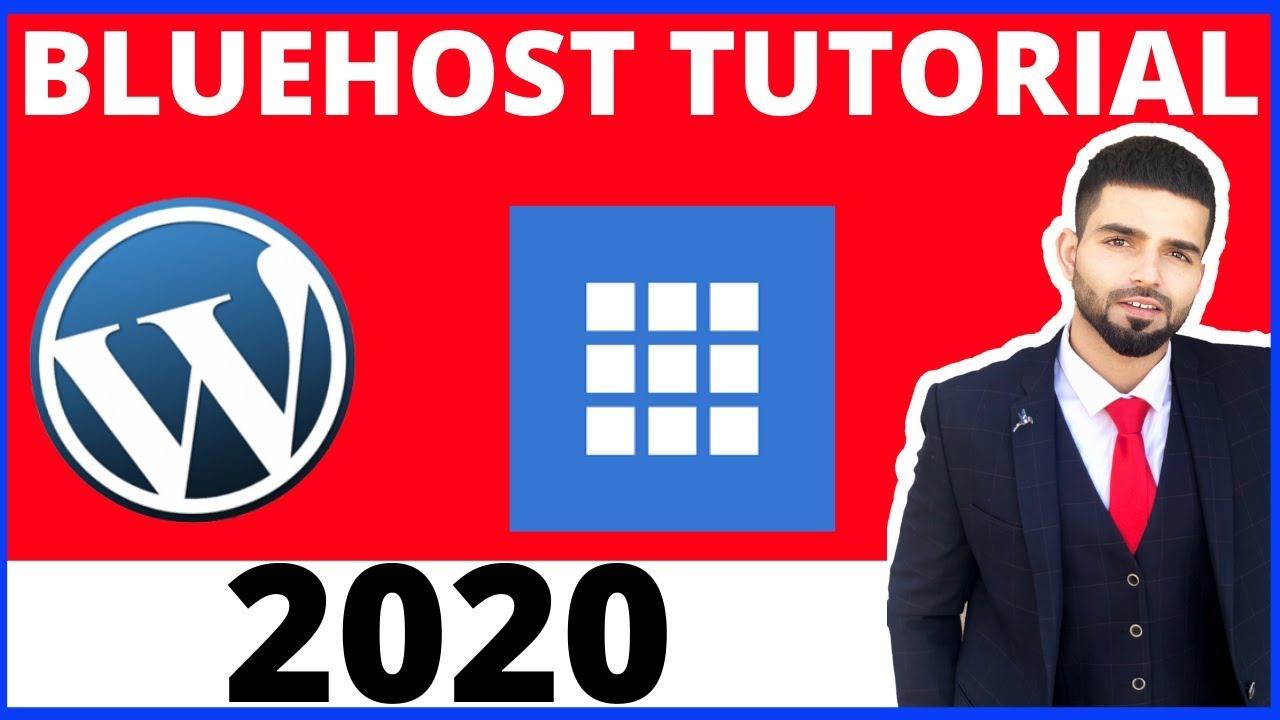 Bluehost Wordpress Tutorial 2020 For Beginners