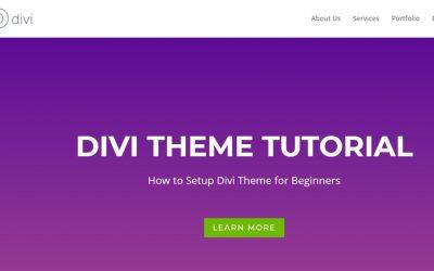 WordPress For Beginners – Divi Theme Tutorial – How to Setup Divi Theme for Beginners