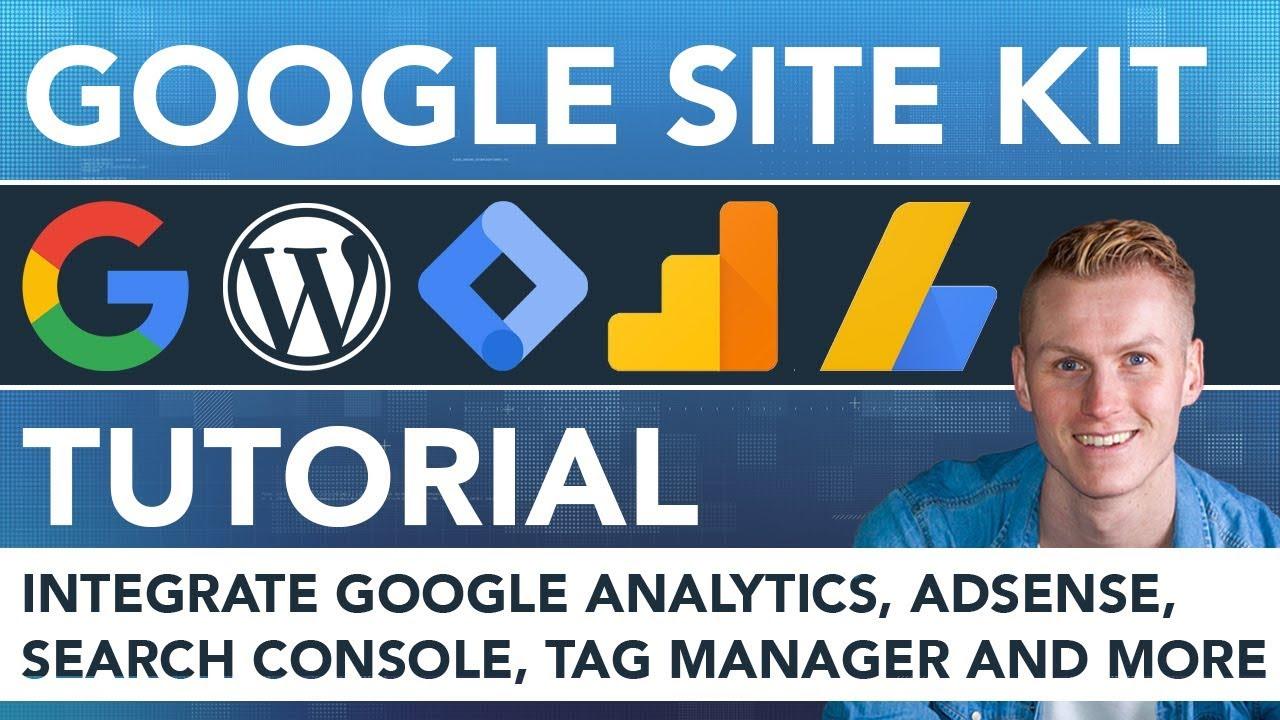 Google Site Kit Plugin For Wordpress   Tutorial